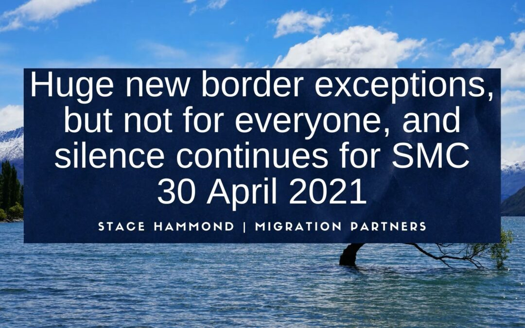 New border exceptions, but not for everyone – 7 August 2020